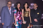 Boney Kapoor, Jhanvi Kapoor And Amar Singh at Sridevi's Birthday Bash