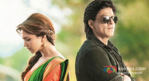 Deepika Padukone And Shah Rukh Khan In Chennai Express Movie Stills