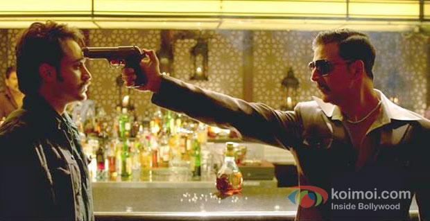 Imran Khan And Akshay Kumar in Once Upon A Time In Mumbaai Dobaara! Movie Stills