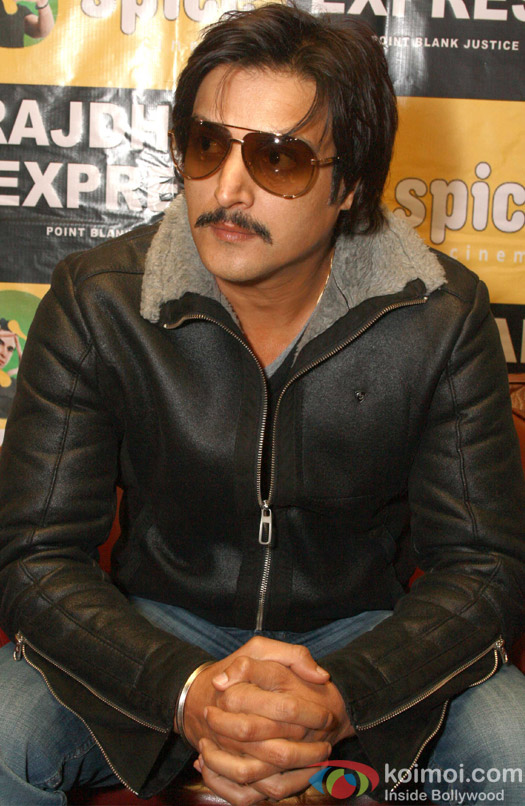 Jimmy Shergill at a press conference of film Rajdhani Express