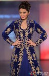 Minissha Lamba walks the ramp at fashion show