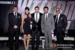 Paresh Rawal, Shruti Haasan, John Abraham, Anil Kapoor And Nana Patekar at 'Welcome Back' press meet