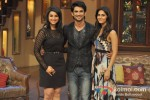 Parineeti Chopra, Sushant Singh Rajput And Vaani Kapoor Promote Shuddh Desi Romance on 'Comedy Nights with Kapil' Pic 2