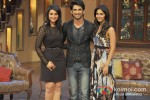 Parineeti Chopra, Sushant Singh Rajput And Vaani Kapoor Promote Shuddh Desi Romance on 'Comedy Nights with Kapil' Pic 1