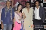 Prakash Jha, Amrita Rao, Ajay Devgn And Arjun Rampal At A Satyagraha Press Meet
