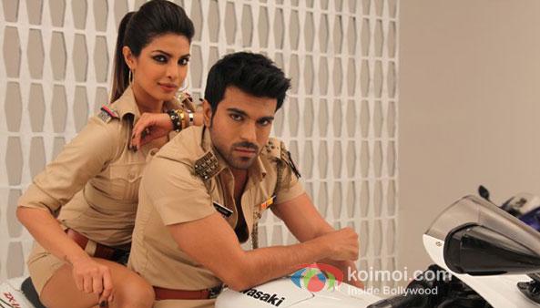 Priyanka Chopra And Ram Charan Teja in Zanjeer 2013 Movie Music Review (Priyanka Chopra And Ram Charan Teja in Zanjeer 2013 Movie Stills)