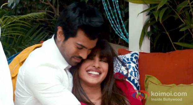 Priyanka Chopra And Ram Charan Teja in Zanjeer 2013 Movie Stills