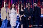 Remo D'souza, Madhuri Dixit, Ileana D'Cruz, Shahid Kapoor And Karan Johar promote 'Phata Poster Nikhla Hero' on 'Jhalak Dikhla Jaa'