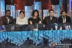 Remo D'souza, Madhuri Dixit, Priyanka Chopra, Karan Johar And Ram Charan Teja Promote 'Zanjeer' on 'Jhalak Dikhla Jaa'