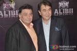 Rishi Kapoor And Randhir Kapoor at Sridevi's Birthday Bash