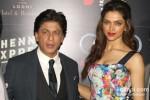 Shah Rukh Khan And Deepika Padukone At Chennai Express Brunch Party Pic 3
