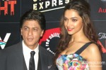 Shah Rukh Khan And Deepika Padukone At Chennai Express Brunch Party Pic 2