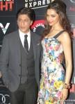 Shah Rukh Khan And Deepika Padukone At Chennai Express Brunch Party Pic 4