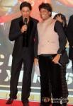 Shah Rukh Khan And Raju Srivastava At Chennai Express Success Party