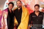 Shah Rukh Khan And Rohit Shetty At Chennai Express Success Party Pic 3