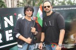 Shah Rukh Khan And Rohit Shetty Celebrates Independence Day at Chennai Express Promotional Event Pic 2