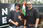 Shah Rukh Khan And Rohit Shetty Celebrates Independence Day at Chennai Express Promotional Event Pic 1