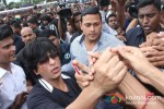 Shah Rukh Khan Celebrates Independence Day at Chennai Express Promotional Event Pic 3