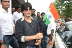 Shah Rukh Khan Celebrates Independence Day at Chennai Express Promotional Event Pic 2