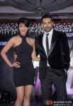 Shruti Haasan And John Abraham at 'Welcome Back' press meet Pic 2