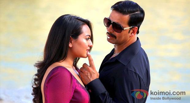 Sonakshi Sinha And Akshay Kumar in Once Upon A Time In Mumbaai Dobaara! Movie Stills