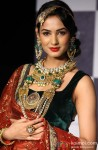 Sonal Chauhan walks the ramp at IIJW 2012