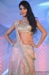 Sonal Chauhan walks the ramp for designer Neeta Lulla's Shehnai Collection