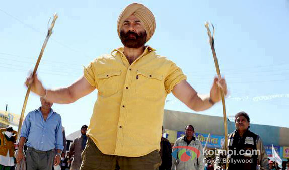 Sunny Deol in Singh Saab The Great Movie Stils