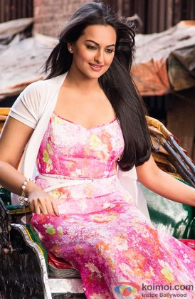 A Beautiful Sonakshi Sinha In A Still From Her Movie