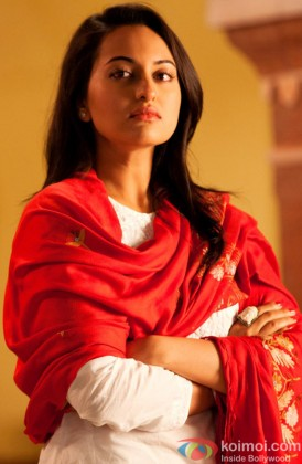 A Serious Sonakshi Sinha Looks On