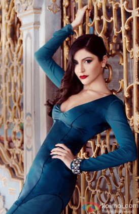 A Stunning Anushka Sharma Poses For A Photo Shoot