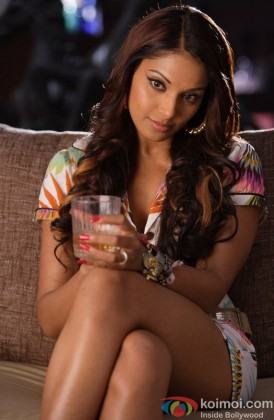 A Thoughtful Bipasha Basu Looks On
