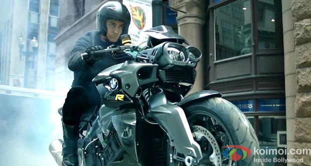 Aamir Khan in Dhoom:3 Movie Stills