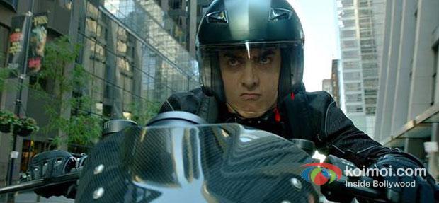 Aamir Khan in Dhoom 3 Movie Stills