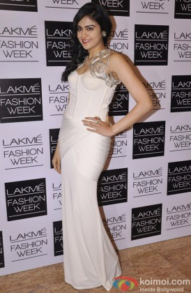 Adah Sharma Looking Gorgeous At The Lakme Fashion Week
