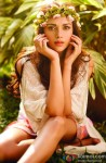 Aditi Rao Hydari Looks Pretty With A Floral Head Gear