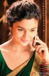 Alia Bhatt gives a cute smile here