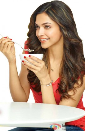 Beautiful Deepika Padukone Grabs A Bite