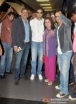 Boman Irani, Abhishek Bachchan, Farah Khan And Shah Rukh Khan return from Dubai Pic 2