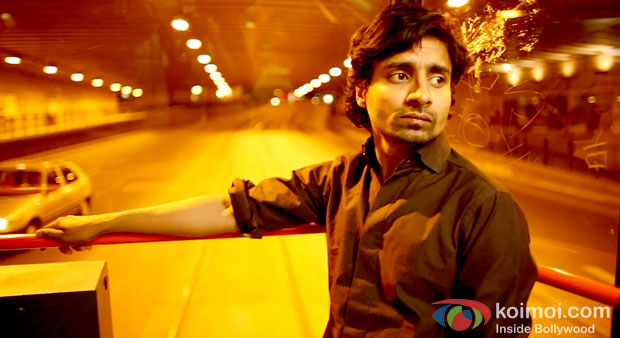 Chandan Roy Sanyal in a still from Prague (Prague Movie Review)