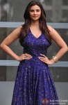 Daisy Shah Looking Beautiful In A Blue Dress