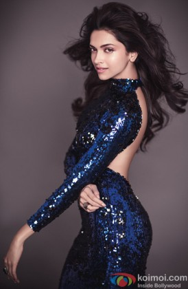 Deepika Padukone Looks Ravishing In A Blue Outfit