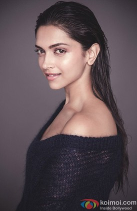 Deepika Padukone Snapped At A Photo shoot