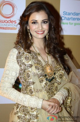 Dia Mirza Looking Beautiful In A Traditional Avatar