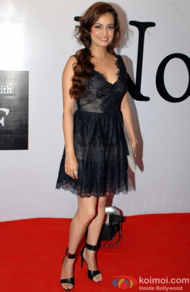 Dia Mirza Sizzles In A Black Outfit