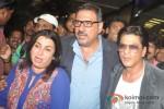 Farah Khan, Boman Irani And Shah Rukh Khan return from Dubai