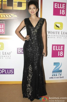 Gauhar Khan Sizzles In A Black Outfit