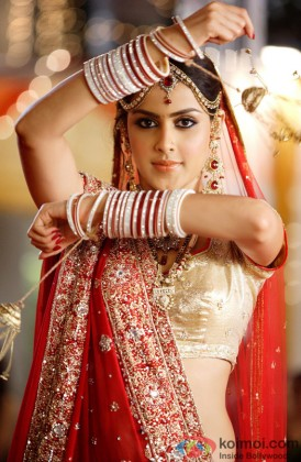Genelia D'souza Dressed In A Traditional Avatar