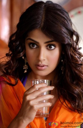 Genelia D'souza Gives A Surprised Expression