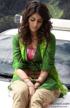 Genelia D'souza Snapped Giving A Sad Expression